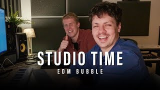 Studio Time | Episode 7: How Mike Cervello and me made EDM Bubble