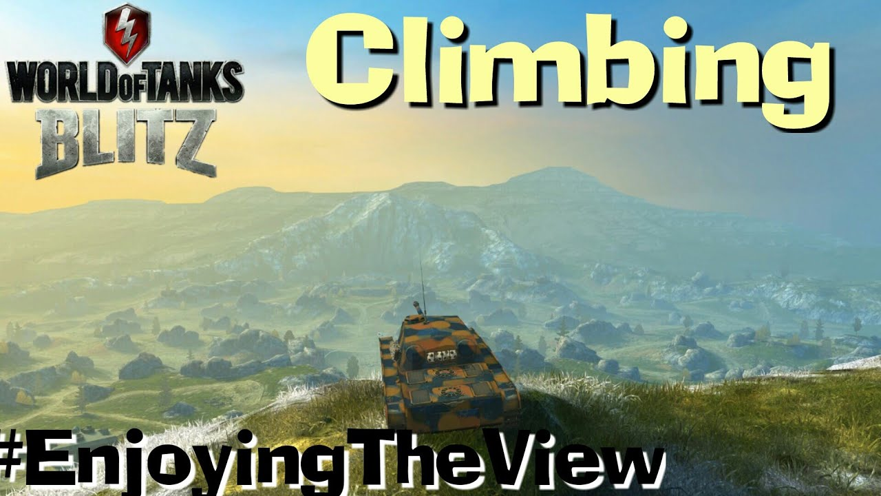 Download WOT Blitz Places Where You`re Not Supposed To Be - Climbing Mountains