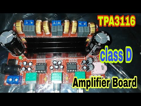 TPA3116 CLASS D AMPLIFIER BOARD | 3 CHANNEL AMPLIFIER AMPLIF