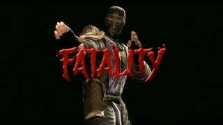 Mortal Kombat 9 - Rain Fatalities (New DLC Character!)