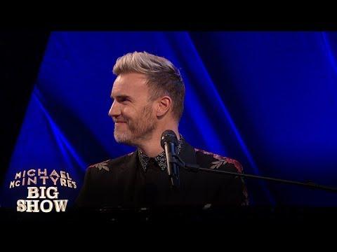Gary Barlow surprises karaoke singer - Michael McIntyre