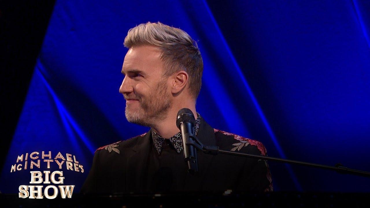 Gary Barlow surprises karaoke singer - Michael McIntyre's Big Show: Episode 2 Preview - BBC