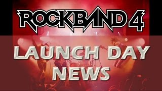 Rock Band 4 Launch Day News: Weekly DLC Returning!