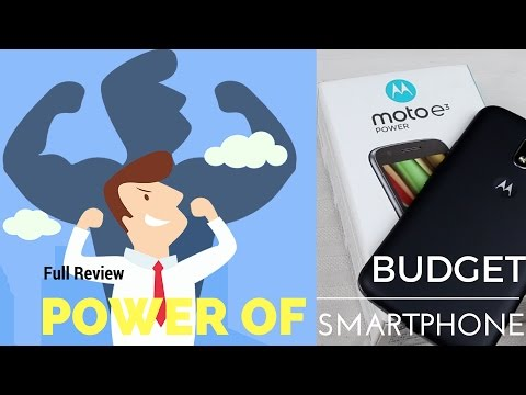 Hindi | Moto E3 Power Full n final Review | Power of a Budget Phone | Sharmaji Technical