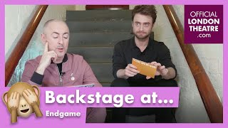Daniel Radcliffe and Alan Cumming play: Samuel Beckett or Eeyore?
