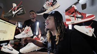 I GOT A W !!! SCREAMING AND RANTING WHILE TRYING TO COP THE OFF WHITE x NIKE COLLAB !!!
