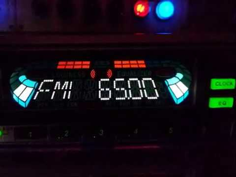 НАЗАД В ПРОШЛОЕ№104-1- кассетная автомагнитола LG TCC-9010-честные 45ват на канал