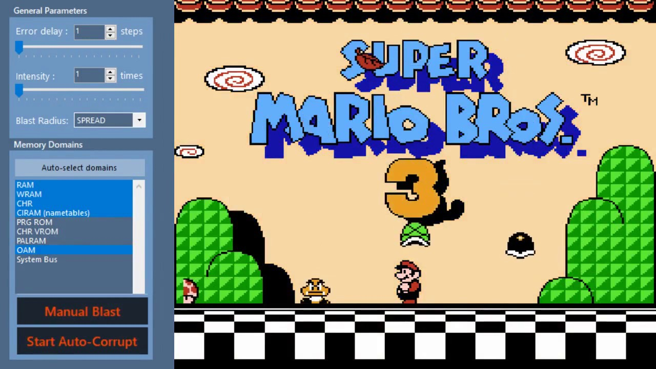Super Mario Bros 3 Corruptions: Part 1/4