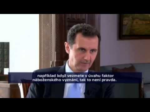Interview with Bashar Assad - Czech TV 1.12.2015 part 1