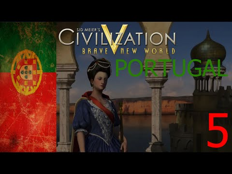 Financial Problems | Let's Play Civilization 5 Portugal #5
