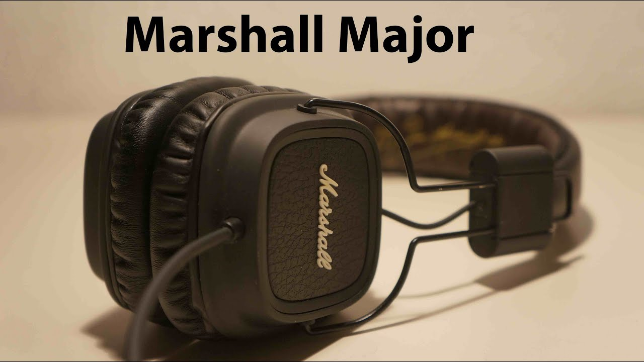 pr sentation casque marshall major youtube. Black Bedroom Furniture Sets. Home Design Ideas