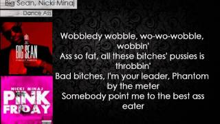 Dance Ass- Big Sean, Nicki Minaj Lyrics + Download