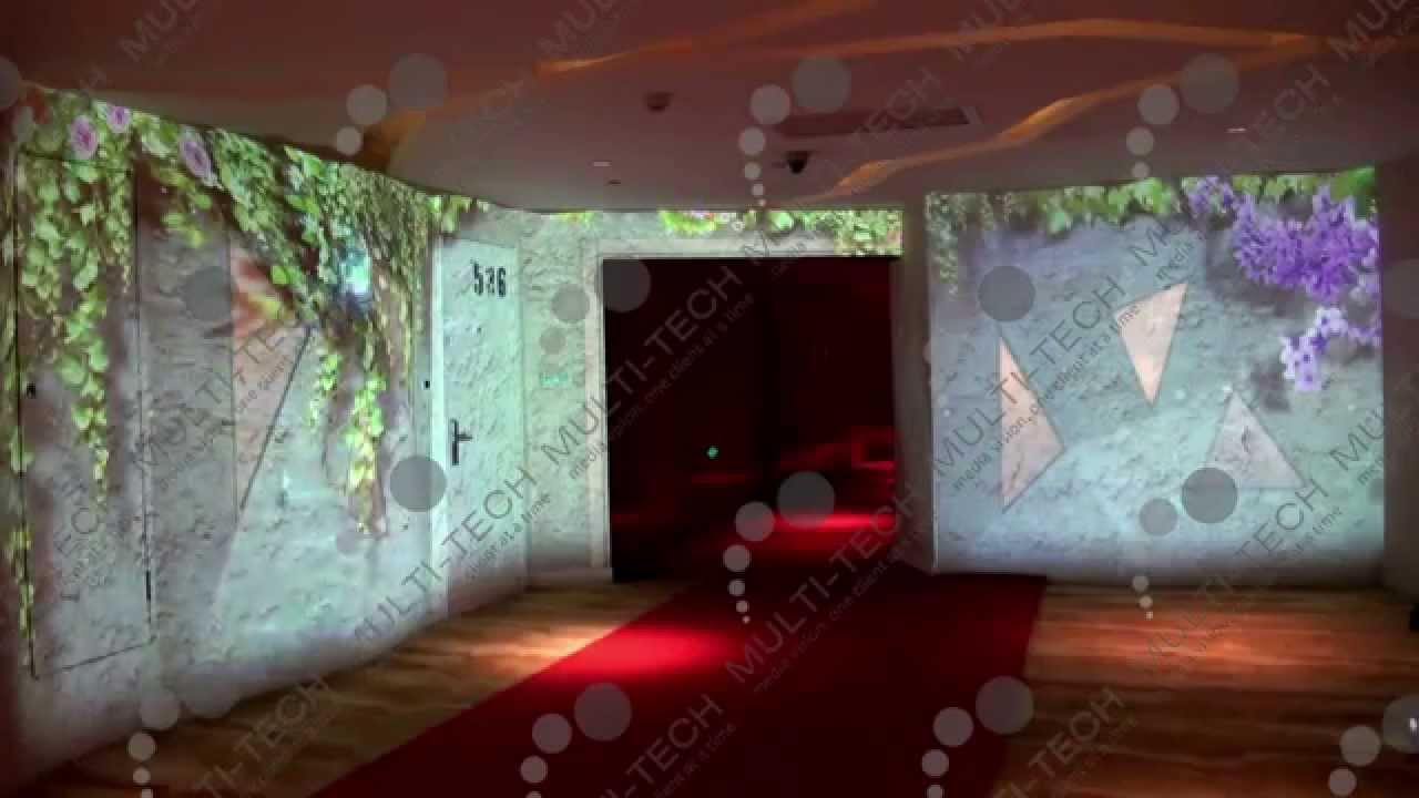 Multi Tech Interactive Projection Butterfly Walls Youtube