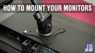 vesa mount monitor