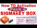 Box & Dongle Activation II Sigmakey Box Activation Pack 4 II How To Acti...