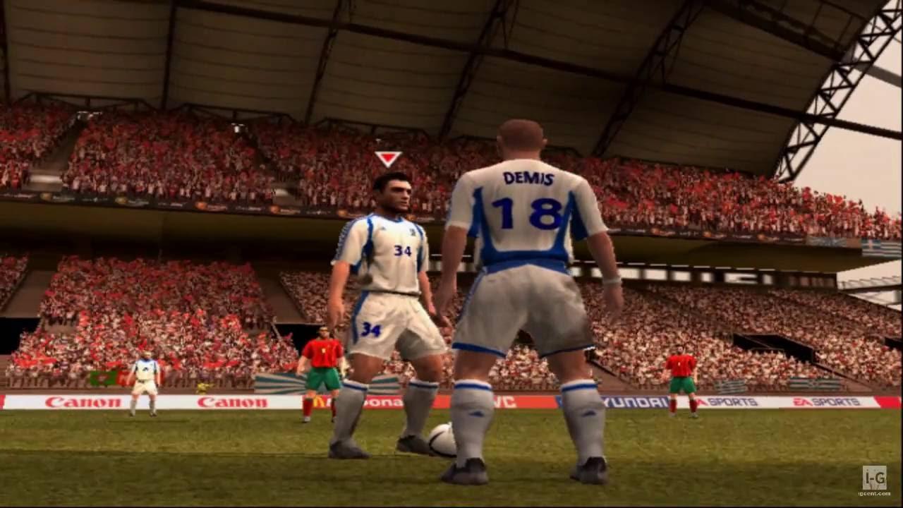 UEFA Euro 2004 PS2 Gameplay HD - YouTube
