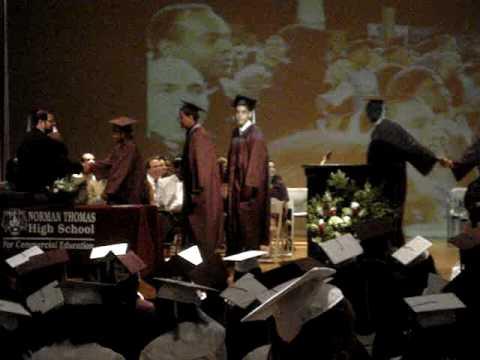Norman Thomas High School Graduation 09