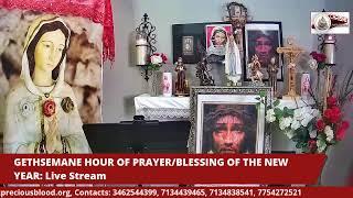 GETHSEMANE HOUR OF PRAYER/ NEW YEAR NOVENA LIVESTREAM