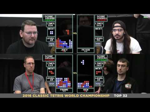 Top 32 (Round1) 2016 Classic Tetris World Championship