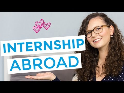 HOW TO: INTERNSHIP ABROAD