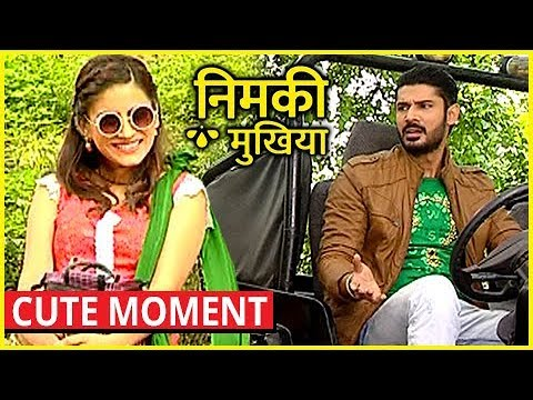 Nimki And Babbu CUTE MOMENT In Nimki Mukhiya   Star Bharat New Show