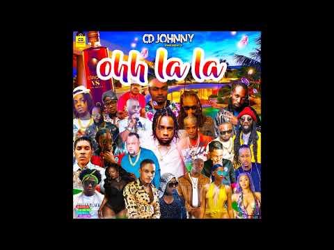 CD JOHNNY OHH LALA LA DANCEHALL MIX 2019