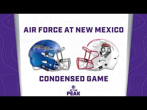 CONDENSED GAME: Air Force Falcons Vs New Mexico Lobos
