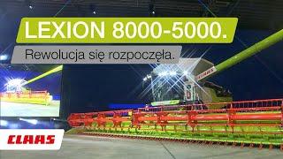 CLAAS LEXION 8000-5000 kombajny. Prezentacja w Berlinie.