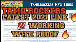 TAMILROCKERS LATEST LINK 2021 🔥   TAMILROCKERS NEW DOMAIN