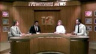 WJZ 11PM Weekend News Open 1987