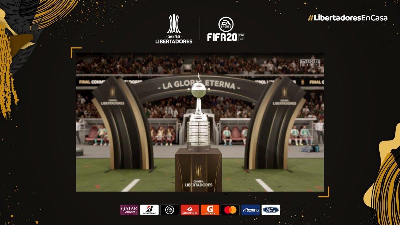 Peñarol x River Plate | Simulação CONMEBOL LIbertadores 2020 | Oitavas de Final - IDA