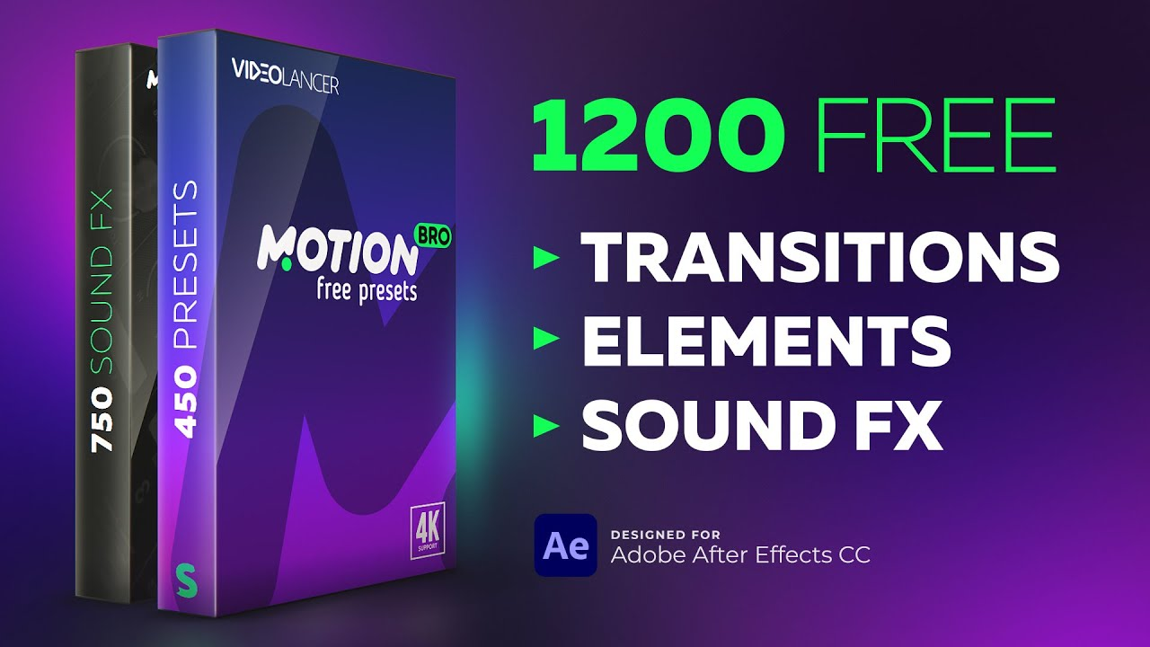Free Presets Pack for Motion Bro – Motion Bro