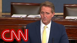 Flake to Trump: Treason is not a punchline