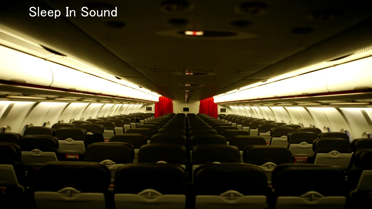 Airplane cabin noise 2 hours asmr relaxation sleep Airplane cabin noise