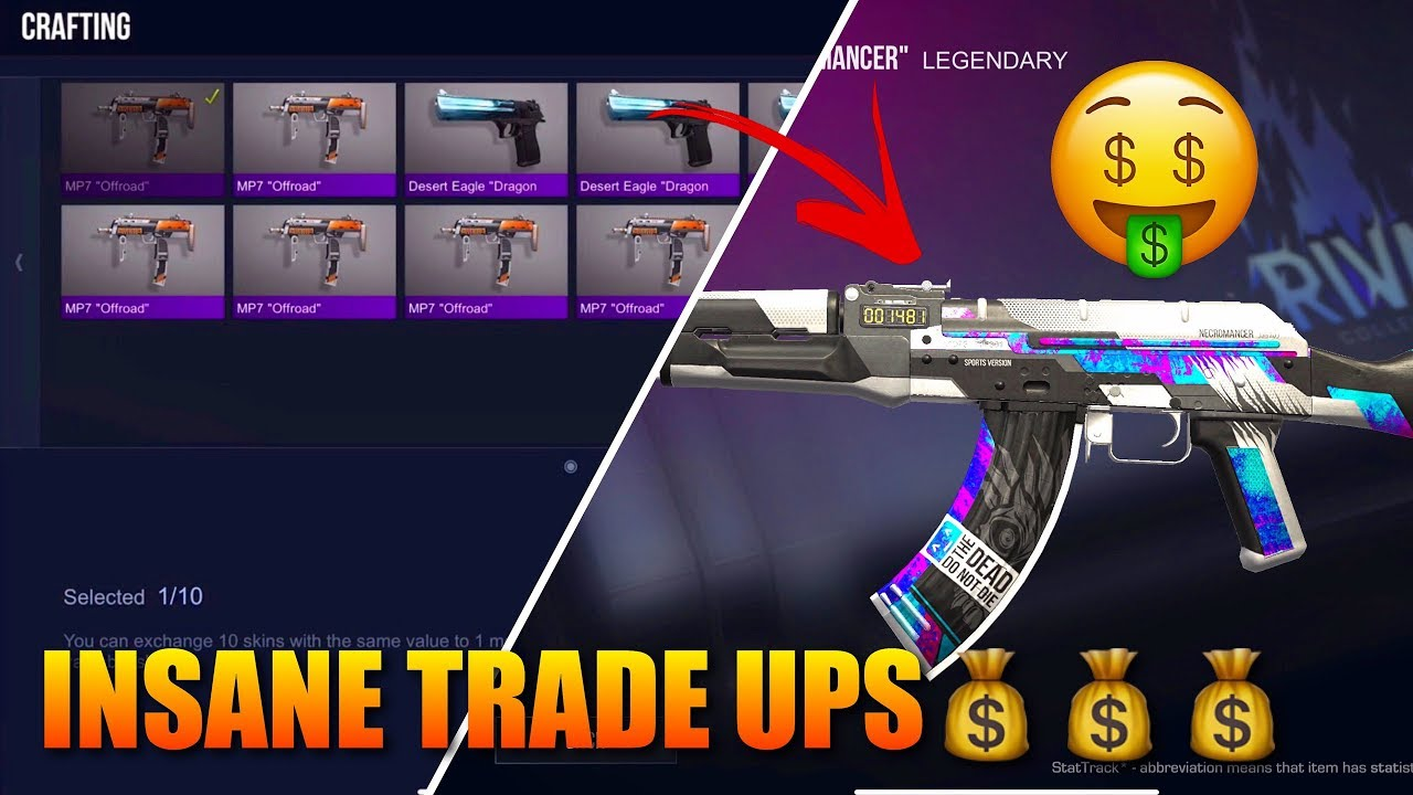 Standoff 2 Crafting Skins Tutorial‼️(Insane Trade Ups)