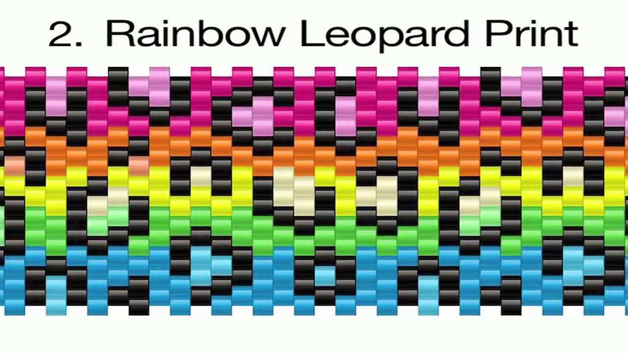 Kandi Bracelet Patterns Unique Inspiration