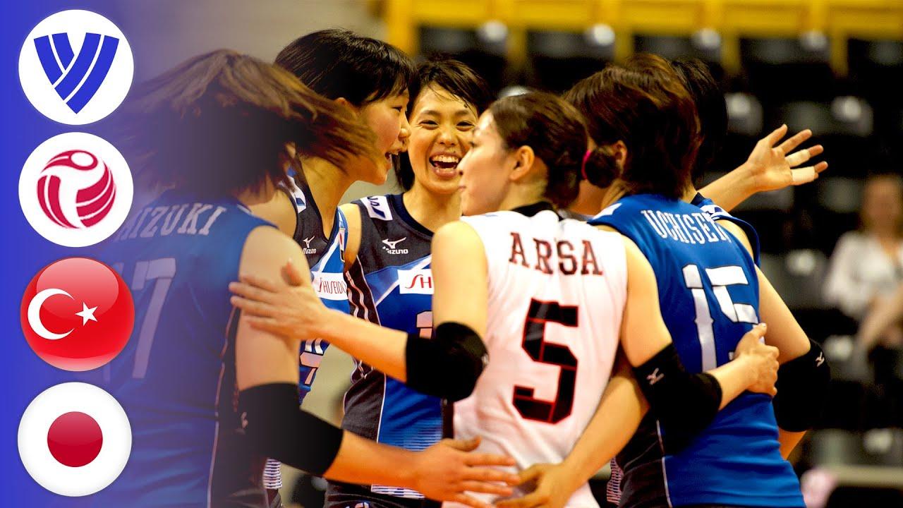 Turkey vs. Japan - Full Match | Women's Volleyball World Grand Prix 2016