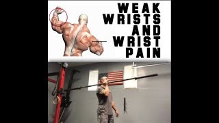 Weak Wrists? Do this! | SmashweRx | Trevor Bachmeyer