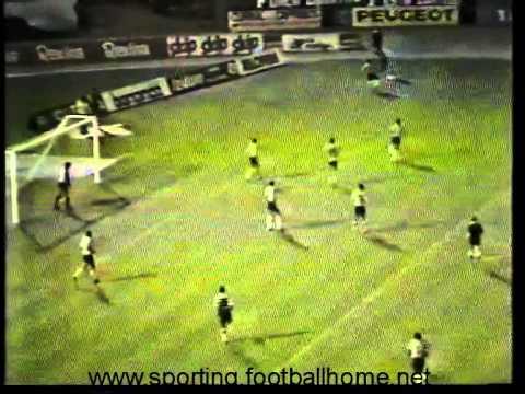 05J :: Sporting - 3 x Varzim - 0 de 1984/1985