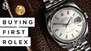 A Guide To Buying Your First Rolex