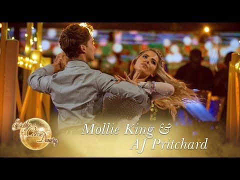 Mollie and AJ Viennese Waltz to Anye Who Had A Heart  Strictly Come Dancing 2017