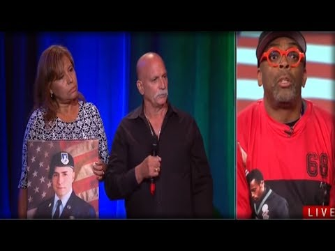 SPIKE LEE INSULTS GOLD STAR PARENTS TO THEIR FACE, BUT THE DAD'S RESPONSE SHUT HIM UP FOR GOOD!