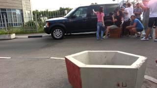 Land Rover Discovery 3  снимается в Кино Последний из Магикян