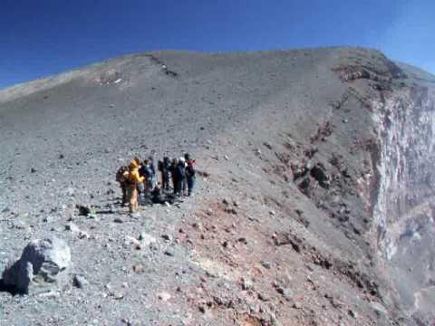 Chile, Atacama Desert, Lascar Vulcano 5592m