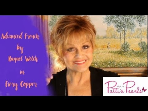 Wig Review:  Advanced French  Raquel Welch in Fiery Copper RL3231