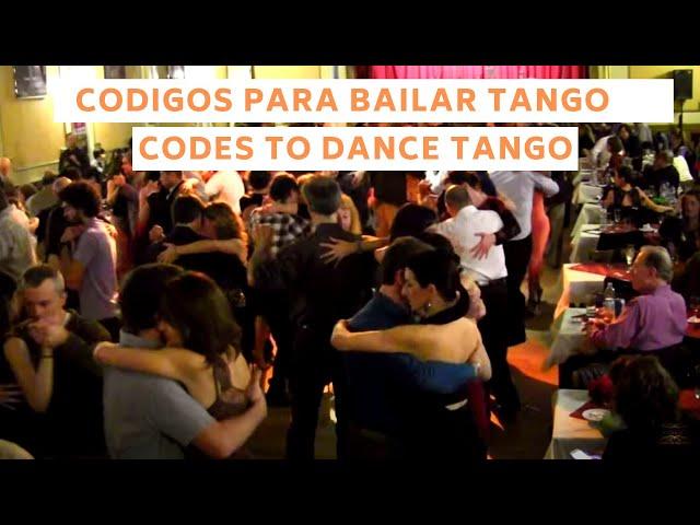 Codigos de la milonga 2021 para baile de tango social, Buenos Aires, Tango Argentino. En subtitles