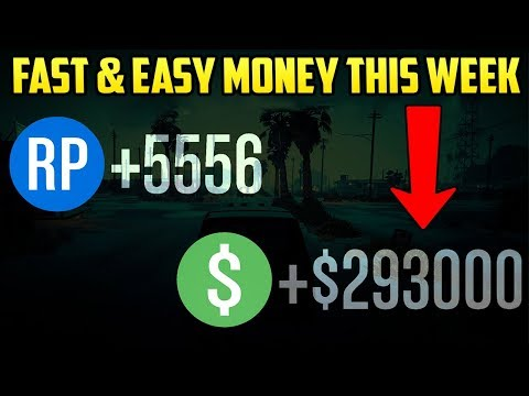 GTA Online - BEST RON'S CONTACT MISSIONS TO MAKE 2X GTA$ THIS WEEK! (Fast & Easy Money)
