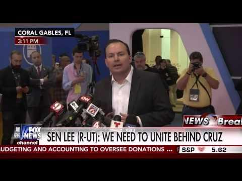 U.S. Sen. Mike Lee: We need to unite behind Ted Cruz | March 10, 2016