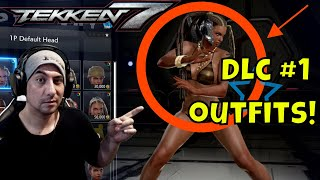 TEKKEN 7 DLC PACK 1 ALL NEW OUTFITS ON ALL CHARACTERS! FIRST LOOK!