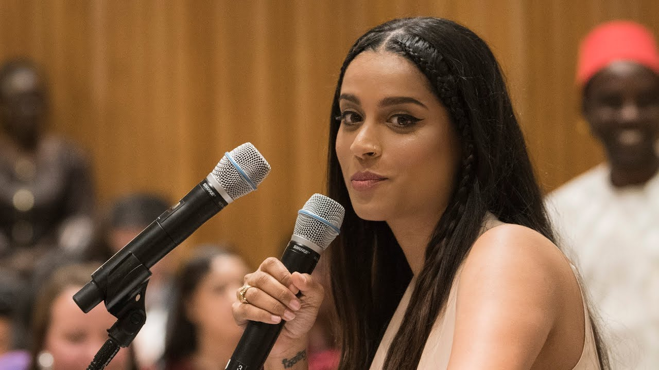 Lilly Singh (IISuperwomanII) speaks at #Youth2030 - launch ...